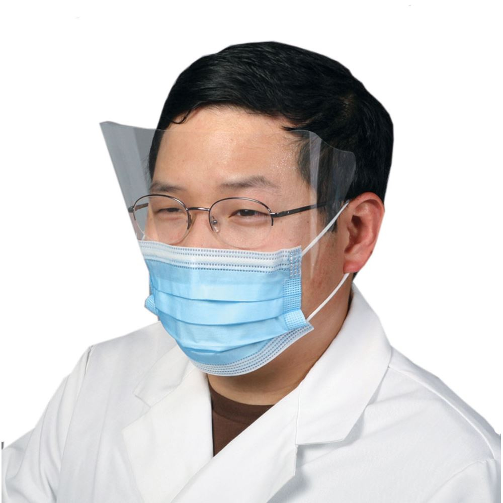 Surgical Mask With Face Shield