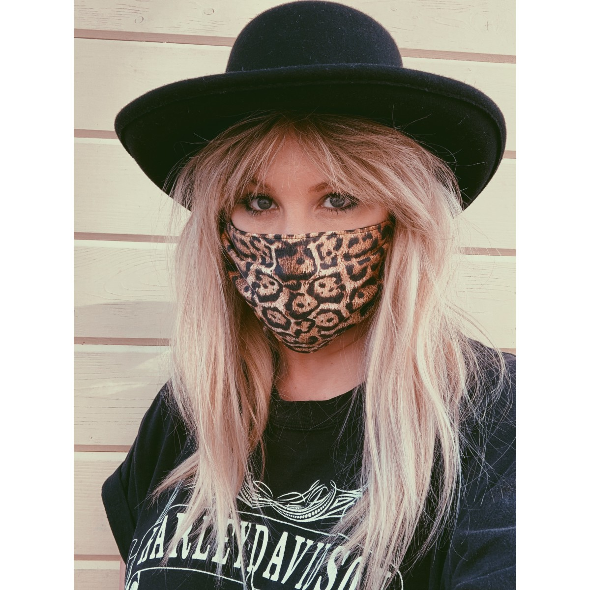 The Sinner And Saint Leopard Print Face Mask Cover WE KOKO