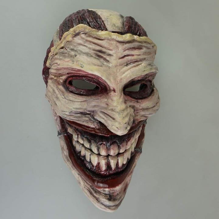 This 3D Printed Joker Mask Will Scare The Bejesus Out Of