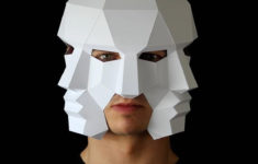 Printable 3d Face Mask Template