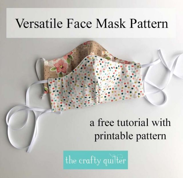 Versatile Face Mask Pattern And Tutorial In 2020