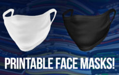 Wholesale Printable Face Masks For Print Businesses MADE